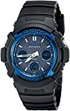 Casio Men's AWG-M100-1ACR Solar Analog-Digital Display Watch