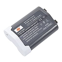 DSTE® EN-EL18 Replacement Li-ion Battery for Nikon D4 D4S D5 Camera D800 D800E Battery Grip
