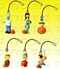 Simpsons Figure Charm Collection 1 Halloween Series Set