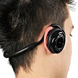 Mediabridge Bluetooth Stereo Headset with Microphone - Supports Wireless Audio Streaming and Hands-Free Phone Calls