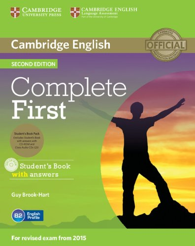 Complete first second edition. Student's pack with CD-ROM and 2 CDs