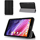 ProCase 2014 version ASUS MeMO Pad 8 (ME181C) Tablet Case, SlimSnug Cover, Ultra Slim and light, Hard Shell, with Stand (Black)