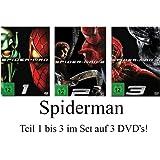 Spider-Man: Teil 1-3 komplett im Set - Deutsche Originalware [3 DVDs]