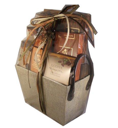 Godiva Gourmet Christmas Holiday Hanukkah Thanksgiving Gift Basket