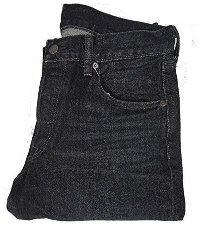 mens-levis-501-2300-straight-leg-button-fly-stretch-black-wash-jeans-waist-32-leg-30