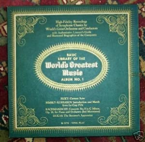 Basic Library of the World's Greatest Music Album No. 1