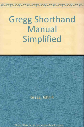 gregg-shorthand-manual-simplified