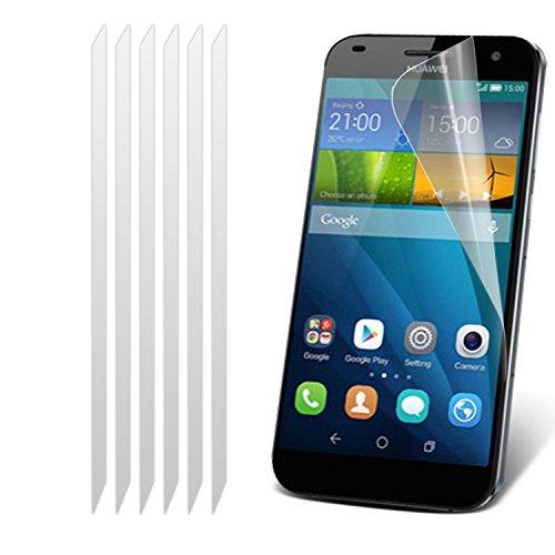 Huawei Ascend G7-Satz mit 5 Display-Schutzfolien mit Poliertuch Mit i-Tronixs