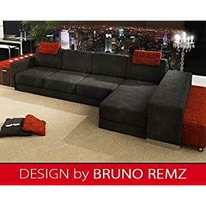 suchen bruno remz kiezb hel sm design sofa couch ecksofa eckcouch wohnlandschaft stoffsofa. Black Bedroom Furniture Sets. Home Design Ideas