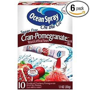 Ocean Spray Sugar Free Drink Mixes