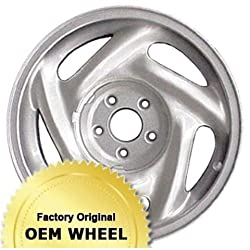 FORD THUNDERBIRD 16×7 5 SLOT Factory Oem Wheel Rim- SILVER – Remanufactured