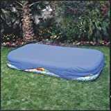 Intex Rectangular Pool Cover for 103 in. x 69 in. or 120 in. x 72 in. Pools (Color: blue, Tamaño: 1 Pack)