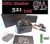 正規品 CoilMaster コイルマスター 521 TAB +VTC4 18650バッテリーセット