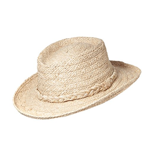 Natural Straw Sun Hat for Men in Extra Large Size