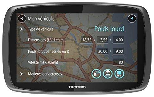 TomTom GPS Camion TRUCKER 6000 (6 Pouces) Europe 48 Cartographie à Vie (1FL6.002.09)