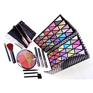 Deluxe Make Up Kit 20 Piece Gift Set with Glitter & Gloss