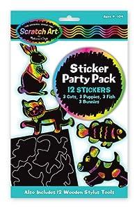 Melissa & Doug Sticker Scratch Art Party Pack from Melissa & Doug