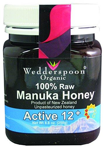 Wedderspoon Organic - Manuka Honey 100% Raw Organic Unpasteurized Active 12+ - 8.8 oz. ( Multi-Pack)