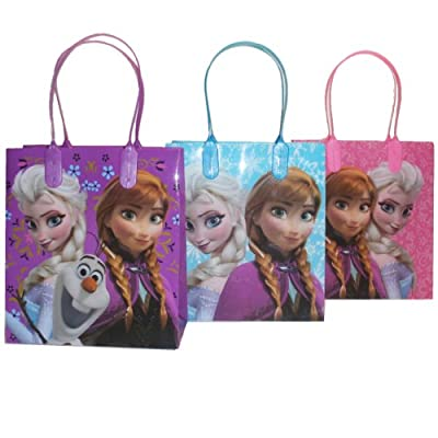 Disney Frozen Party Favor Goodie Small Gift Bags 12 from Disney