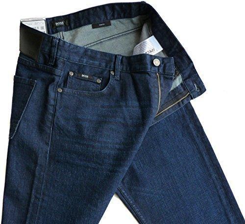 %%% Stylische HUGO BOSS Stretch-Jeans W34/L32 CHARLESTON, SLIM FIT