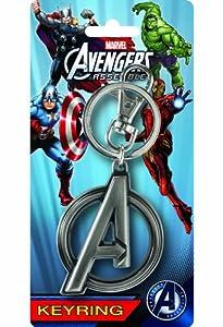 Marvel Avengers A Logo Pewter Key Ring
