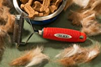 Easy Pet Grooming Undercoat Rake-DeSheddingTool-Fantastic For Dogs & Cats Grooming Durable Dog Groomer -Pet Brush-Cat Grooming-Grooming Tool