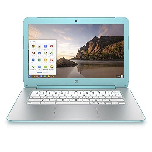 HP 14-x030nr Chromebook – 14″ HD LED Display / 16GB eMMC / 2GB DDR3L SDRAM- Ocean Turquoise (Certified Refurbished)