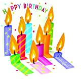 1-X-Happy-Birthday-Candles-Treasures-Pop-Up-Greeting-Card