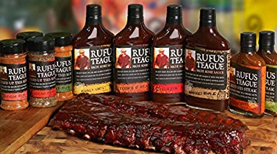 Rufus Teague's Award Winning BBQ Sauces - OU Kosher