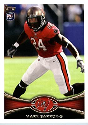 2012 Topps Football Card #47 Mark Barron RC - Tampa Bay Buccaneers (RC - Rookie Card)(NFL Trading Card)
