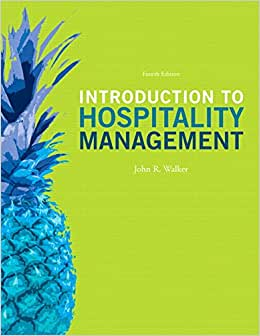Introduction To Hospitality Management And Plus MyHospitalityLab With Pearson EText -- Access Card Package (4th Edition)