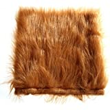 Rrimin Pet Costume Lion Mane Wig For Dog Holiday Festival Fancy Dress Up