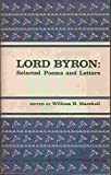 Lord Byron Selected Poems and Letters