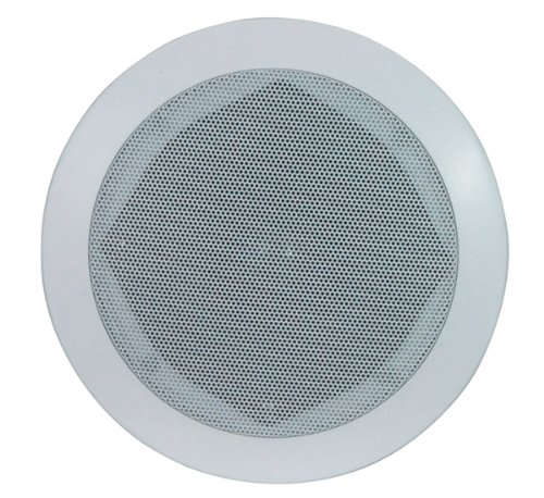 B410A e-audio White 6.5 ' 2-Way Ceiling Speakers (8 Ohms 120 W) SUPPLIED IN PAIRS Black Friday & Cyber Monday 2014