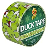 Duck Brand 280734 Reindeer Games Printed Duct Tape, 1.88-Inch by 10 Yards, Single Roll