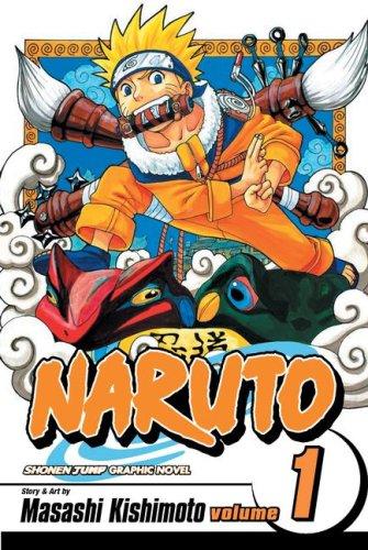 NARUTO -ナルト- コミック1巻 (英語版)