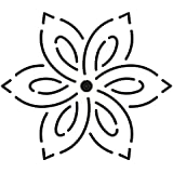 4 Small Flower Quilting Stencil