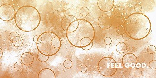 Top Bilder Leinwand Keilrahmen Bild Canvas Kunstdruck XXL Artland Abstrakt Schrift Melanie Viola: Emotionale Kunst Wohlfühlen in verschiedenen Größen Riesenauswahl in unsrem Händlershop!