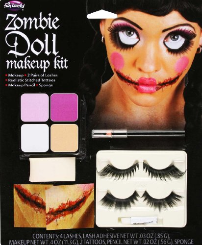 Doll Makeup for Halloween - Cover
