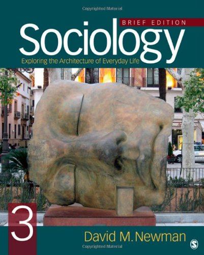 Sociology: Exploring The Architecture Of Everyday Life, Brief Edition front-17887