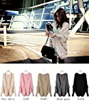 2014 fall and winter women fashion clothes sale bat sleeve cardigan knitting needle shawl ladies thick coat sweater. pink /black