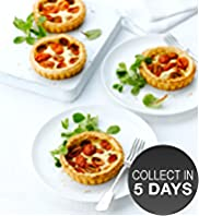 4 Baby Plum Tomato & Camembert Tarts
