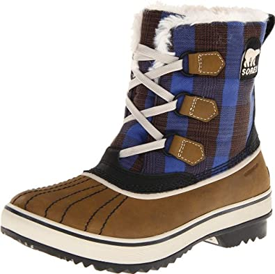 Sorel Tivoli Plaid, Autumn Bronze/Stone, 5