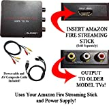 HDMI Converter for Amazon Fire Streaming Stick: Use Amazon Fire Streaming Stick with Older TVs that have Composite (red/white/yellow) Inputs. [NOTE: AMAZON FIRE STREAMING STICK SOLD SEPARATELY]