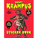 Krampus Sticker Book: 72 Reusable Stickers for Naughty Girls and Boys of All Ages