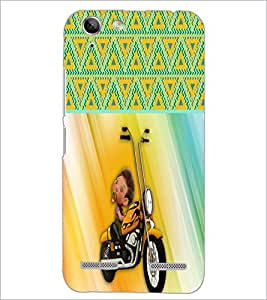PrintDhaba Funny Image D-3757 Back Case Cover for LENOVO VIBE K5 (Multi-Coloured)