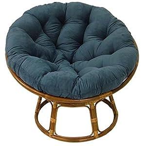 Amazon Com Rattan Papasan Chair With Cushion Kitchen
