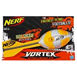Nerf N-Sports Vortex Aero Howler Football, Orange and Grey