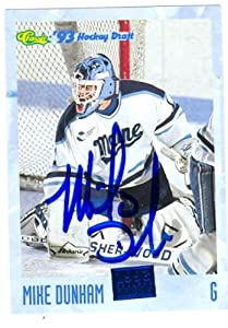 Buy Mike Dunham Autographed Hand Signed Hockey Card (New Jersey Devils) 1993 Classic #56 by Hall of Fame Memorabilia