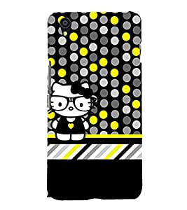 Cool Crazy Fashion Cute Fashion 3D Hard Polycarbonate Designer Back Case Cover for OnePlus X :: One Plus X :: One+X